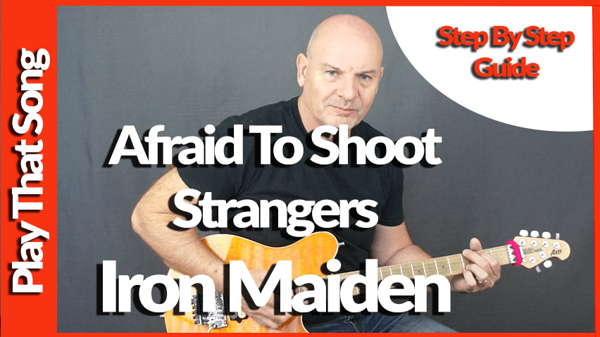 Afraid To Shoot Strangers By Iron Maiden – Guitar Lesson