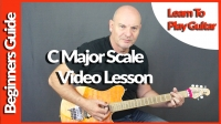 C Major Scale Lesson with Geoff Sinker