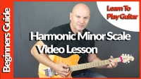 Harmonic Minor Scale Short Lesson by Geoff Sinker