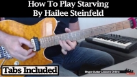 "How To Play ""Starving"" by Hailee Steinfeld"