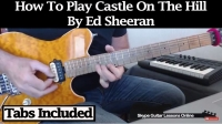How To Play Castle On The Hill by Ed Sheeran